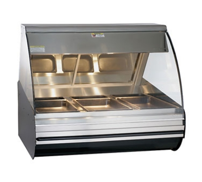 Alto Shaam HN2-48-SS Full Serve Deli Display Case, Heated, Countertop, 48-in, Stainless