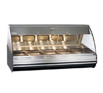 Alto Shaam HN2-72-SS Full Serve Deli Display Case, Heated, Countertop, 72-in, Stainless