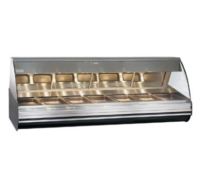Alto Shaam HN2-96-SS Heated Display Deli Case, Full Serve, 96-in, Countertop, Stainless