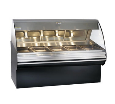 Alto Shaam HN2SYS-72-SS Full Service Deli Display Case w/ Base, Heated, 72-in, Stainless