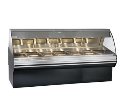 Alto Shaam HN2SYS-96-C Full Service Deli Display Case w/ Base, Heated, 96-in, Custom