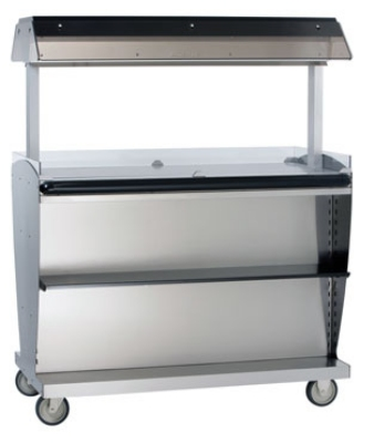 Alto Shaam ITM2-48/STD 2301 Island Hot Food Takeout Merchandiser, 60.5 x 48-in, Export