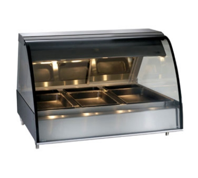 Alto Shaam TY2-48-BLK Full Service Heated Deli Display Case, Countertop, 48-in, Black