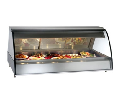 Alto Shaam TY2-72/PL-BLK Self Serve Heat Deli Display Case, Open Left Side, 72-in, Black