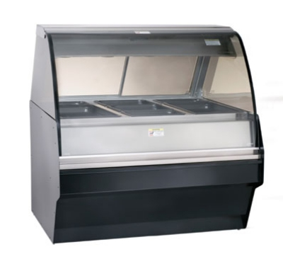 Alto Shaam TY2SYS-48-C Full Serve Hot Deli Display w/ TY2-48 Display Case, Custom