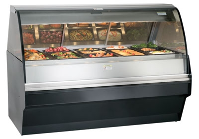Alto Shaam TY2SYS-72/PR-C Self Serve Hot Deli Display w/ TY2-72/PR Case, Custom Color