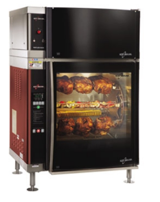 Alto Shaam AR-7EVH-DBLPANE 2401 Rotisserie Oven w/ Ventless Hood, Double Door, Stainless, 240/1 V
