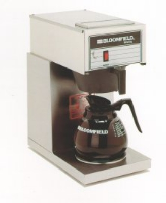 Bloomfield 8542-D1 Koffee King Pourover Coffee Brewer, 1-Warmer, Stainless, 120V