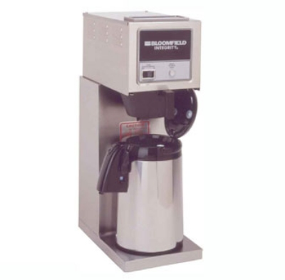 Bloomfield 8774-A Integrity Pourover Airpot Brewer, Stainless, 120V