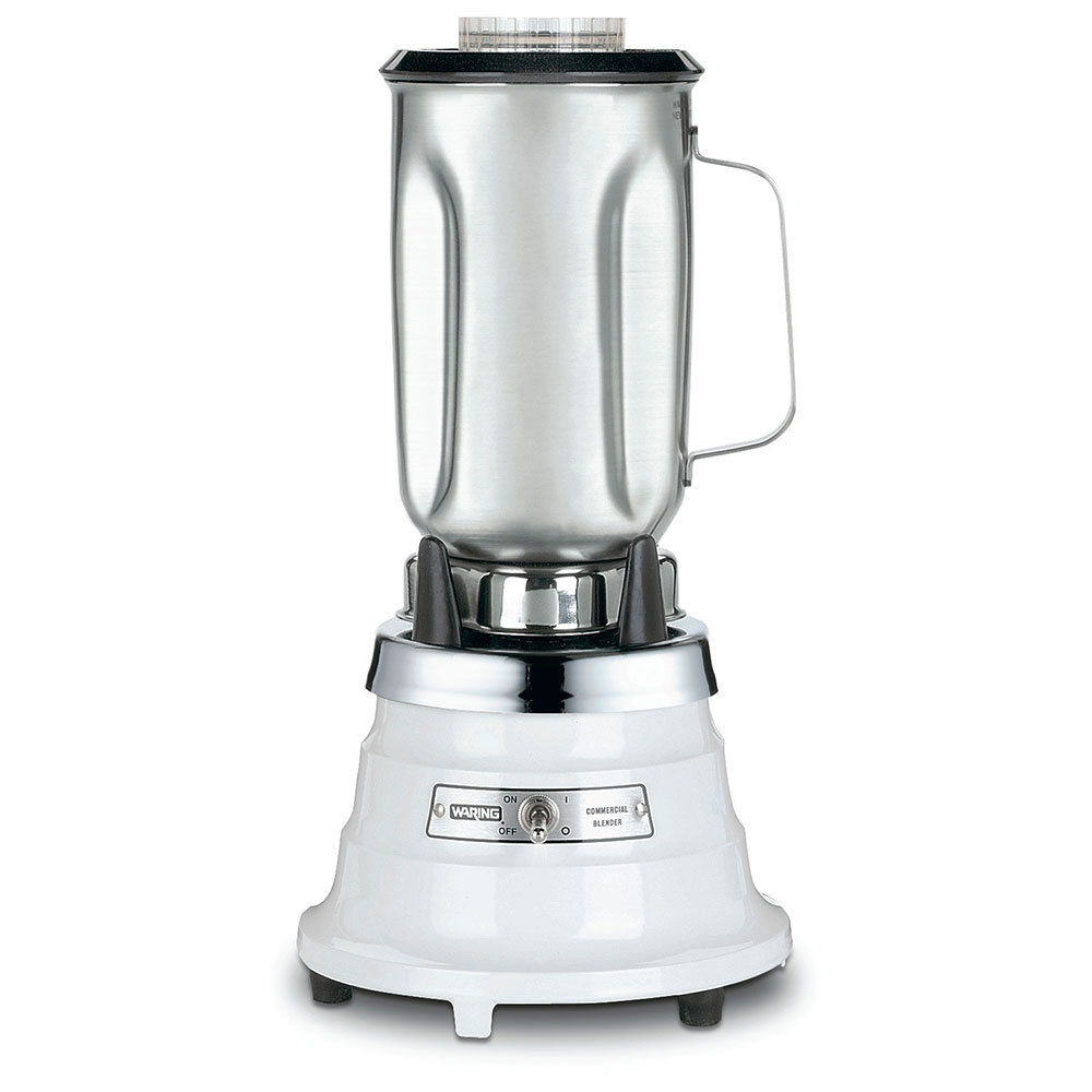 Waring 700S Food Blender - 32-oz Capacity, Removable Stainless Steel Container, Cloverleaf Design