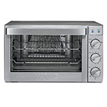 Waring CO1600WR Countertop Convection Oven w/ 120-min Timer & 2-Wire Racks, 1.5-cu ft