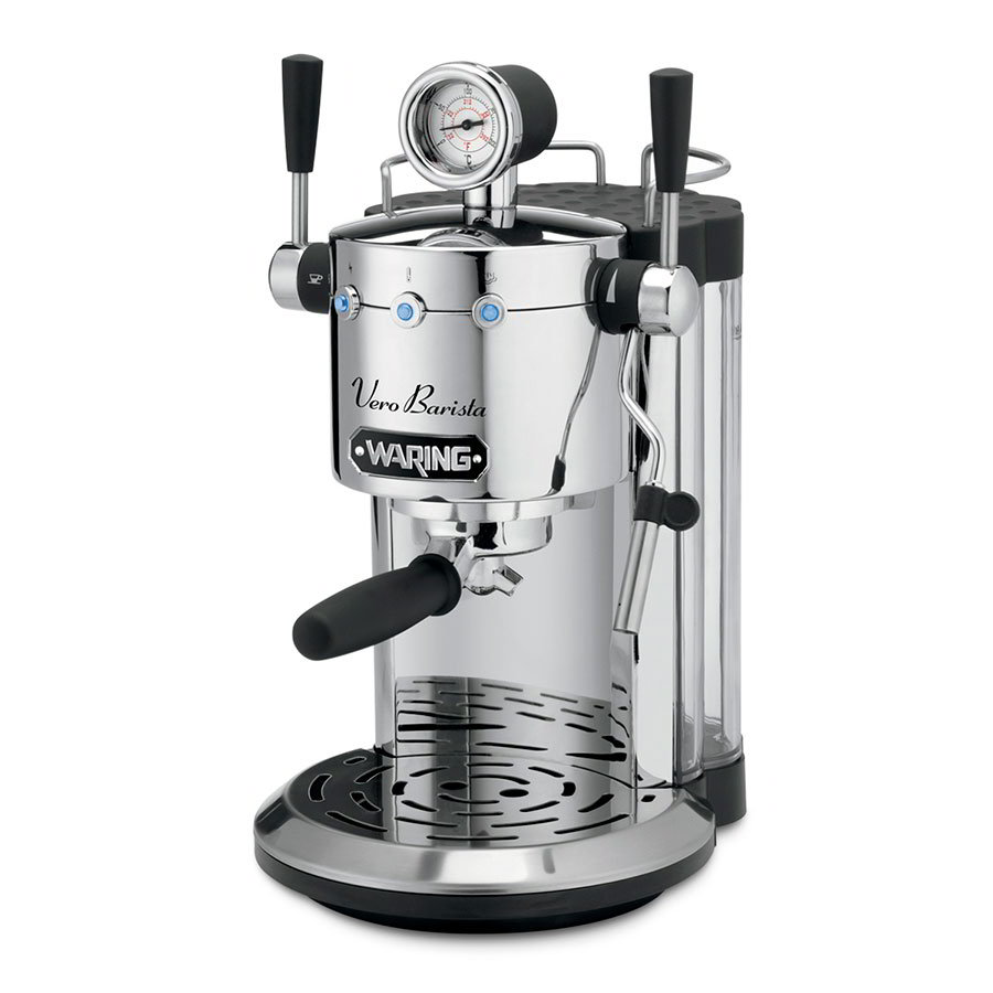 Waring ES1500 Espresso Maker w/ Steam Wand Dispenser & 42-oz Remov