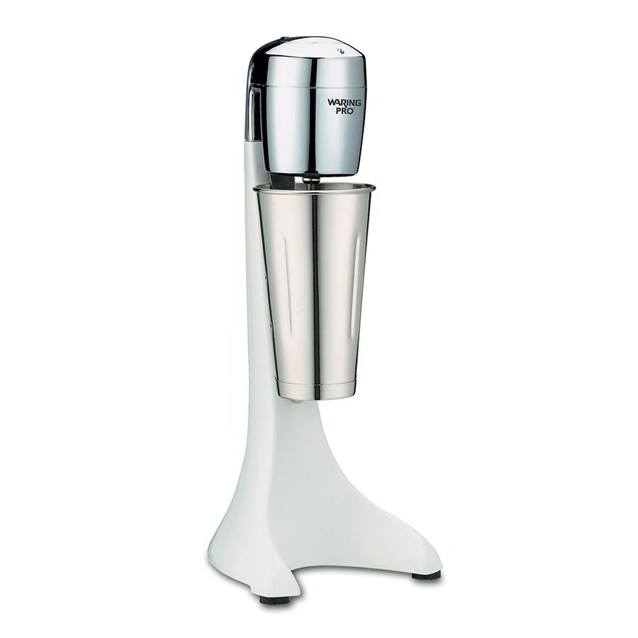 Waring PDM101 Single 2-Speed Drink Mixer w/ 24-oz Cup, Quite White
