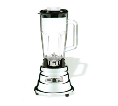 Waring BB900P 2-Speed Bar Blender w/ 48-oz Capacity & Toggle Switch, Chrome Zinc Base