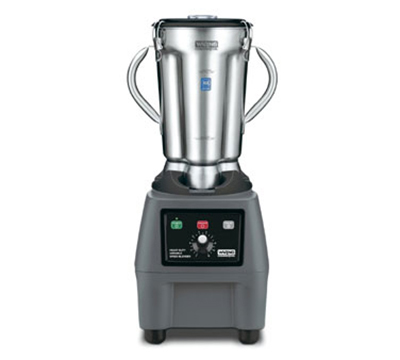Waring CB15V Heavy Duty Food Blender w/ 1-gal Stainless Container & Variable Speed, Lid, Keypad