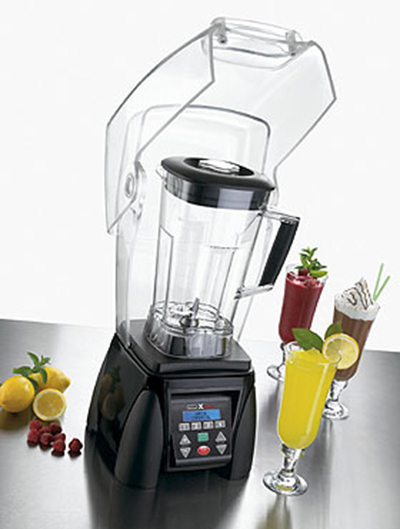 Waring MX1500XTX Heavy Duty High-Power Blender w/ 64-oz BPA-Free Container & 4-Blending Stations