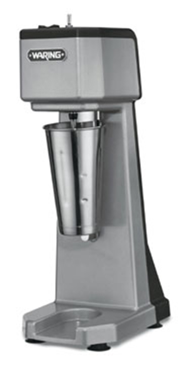 Waring WDM120 Counter Mounted Drink Mixer w/ 1-Spindle & 3-Speed Motor, Stainless Cup, 120V