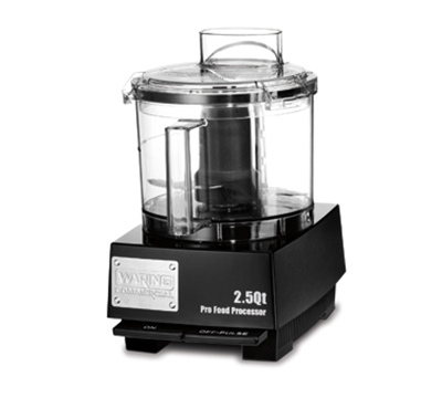 Waring WFP11SW 2.5-qt Commercial Food Processor w/ Vertical Chute Feed & WFP11S1 S-Blade