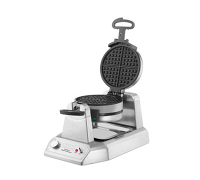 Waring WWD200 Classic Double Waffle Maker w/ Embedded Heating Element & Non-Stick Plates