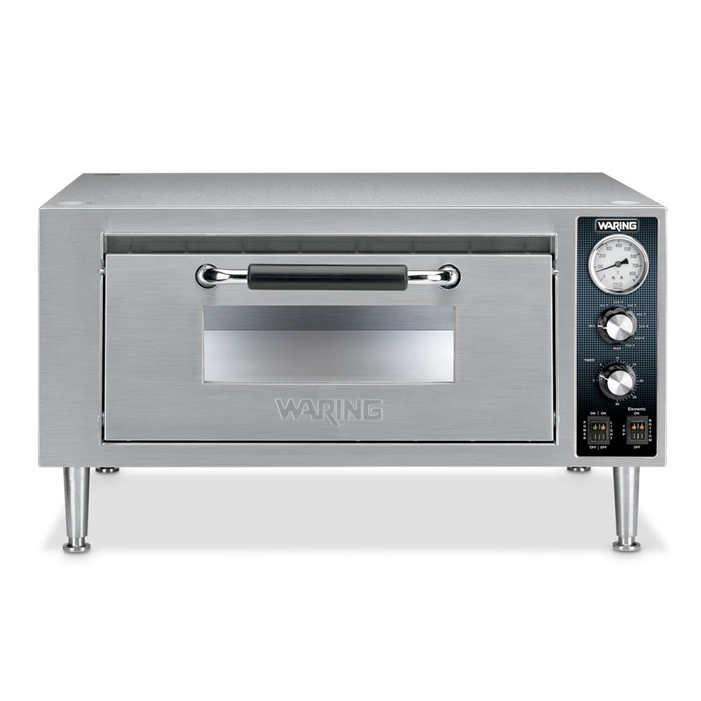 Waring WPO500 120V Single Pizza Deck Oven, 120v/1