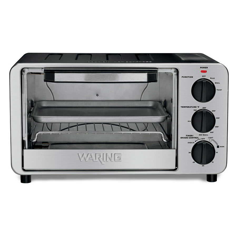 Waring WTO450 Countertop Commercial Toaster Oven - 120v/1ph
