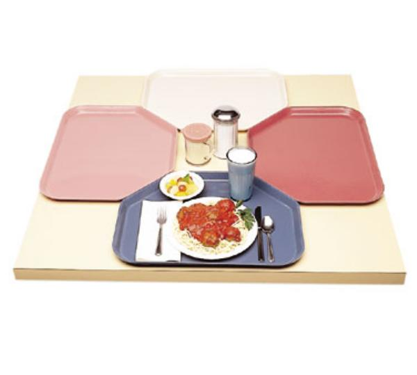 Cambro 1422TR522 Camtray Trapezoidal 14 x 22 in Burgundy Wine NSF Restaurant Supply