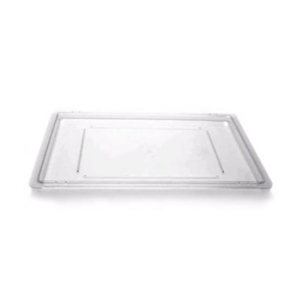 Cambro 1826CCW467 Camwear Cover Flat 18 x 26 in Polycarbonate Safety Red Restaurant Supply