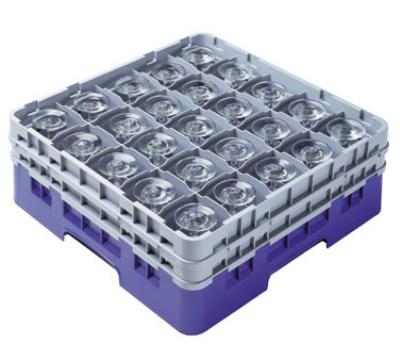 Cambro 36S958186 Camrack 36 Compartments 10-1/8 High 2-7/8 in D Navy Blue NSF Restaurant Supply
