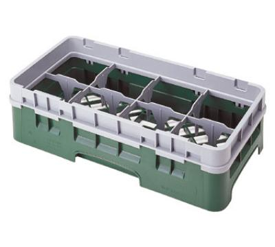 Cambro 8HS800184 Camrack Half Size 8 Compartments 8-1/2 High 4-1/8 in D Beige NSF Restaurant Supply