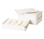 "Cambro DB18263CW Pizza Dough Box - 26x18x3"" White"