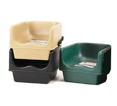 Cambro 100BC131 Single Height Booster Seat - Dark Brown