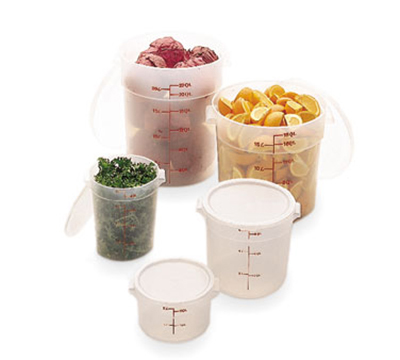 Cambro RFSC12PP190 Storage Container Cover - 12/18/22-qt, Translucent