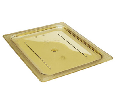 Cambro 10HPC150 H-Pan Hot Food Cover - Full-Size, Flat, Amber