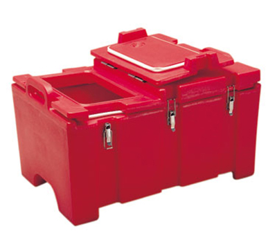 Cambro 100MPCHL401 Insulated Food Pan Carrier - Hinged Lid, 18x26.
