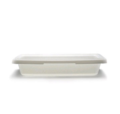 Cambro 12183P148 1.75-gal Camwear Food Storage Container - White
