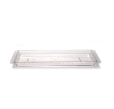 "Cambro 1218CCW467 Camwear Food Storage Cover - Flat, 12x18"" Safety"