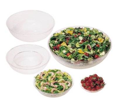 "Cambro PSB23 23"" Camwear Salad Bowl - 40-qt Capacity, Pebbled"