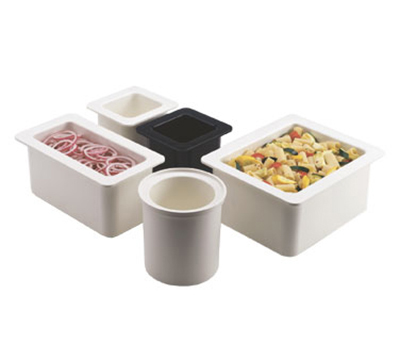 "Cambro 26CF148 ColdFest Food Pan - Half Size, 6""D, White"