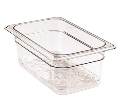 Cambro 20CWD135 Camwear Food Box Drain Shelf - Clear
