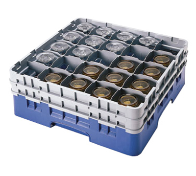 Cambro 25S434163 Camrack Glass Rack - (2)Exten