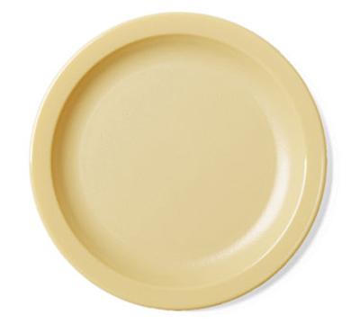 "Cambro 65CWNR148 6-9/16"" Camwear Plate - White"