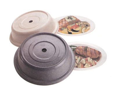 "Cambro 124VS191 12-1/4"" Round Versa Plate Cover - Granite Gray"
