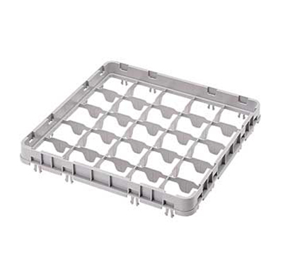 Cambro 25E2151 Half Drop Camrack Extender - Full Size, 25-Compartment,