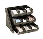 Cambro 9RS9110 Organizer Rack - 9-Bins, 20-1/8x21-3/8x14-1/4