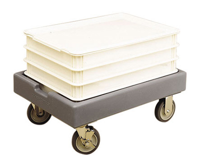 "Cambro CD1826PDB157 Pizza Box Camdolly - 27-53/64x19-53/64x10-37/64"" Coffee Beige"