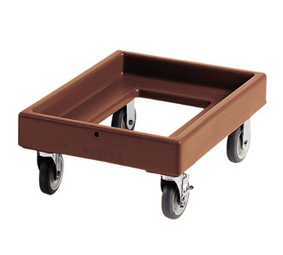 "Cambro CD300131 Camdolly -  25-1/2x19-1/4x10-1/2"" 300-lb Capacity, Dark Brown"