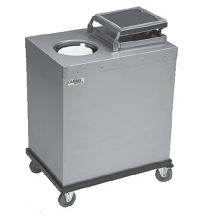 Cambro CHPL10-0000 Camtherm Mobile Plate Heater - (100)Plate Capacity, Stainless