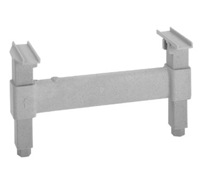 "Cambro CSDS24480 24"" Camshelving Dunnage Support - Speckled Gray"