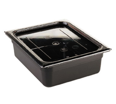 Cambro 90CWC135 Camwear Food Pan Cover - 1/9 Size, Flat, Clear