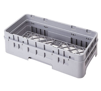Cambro HBR414151 Camrack Base Rack with Extender - Half-Size, Soft Gr